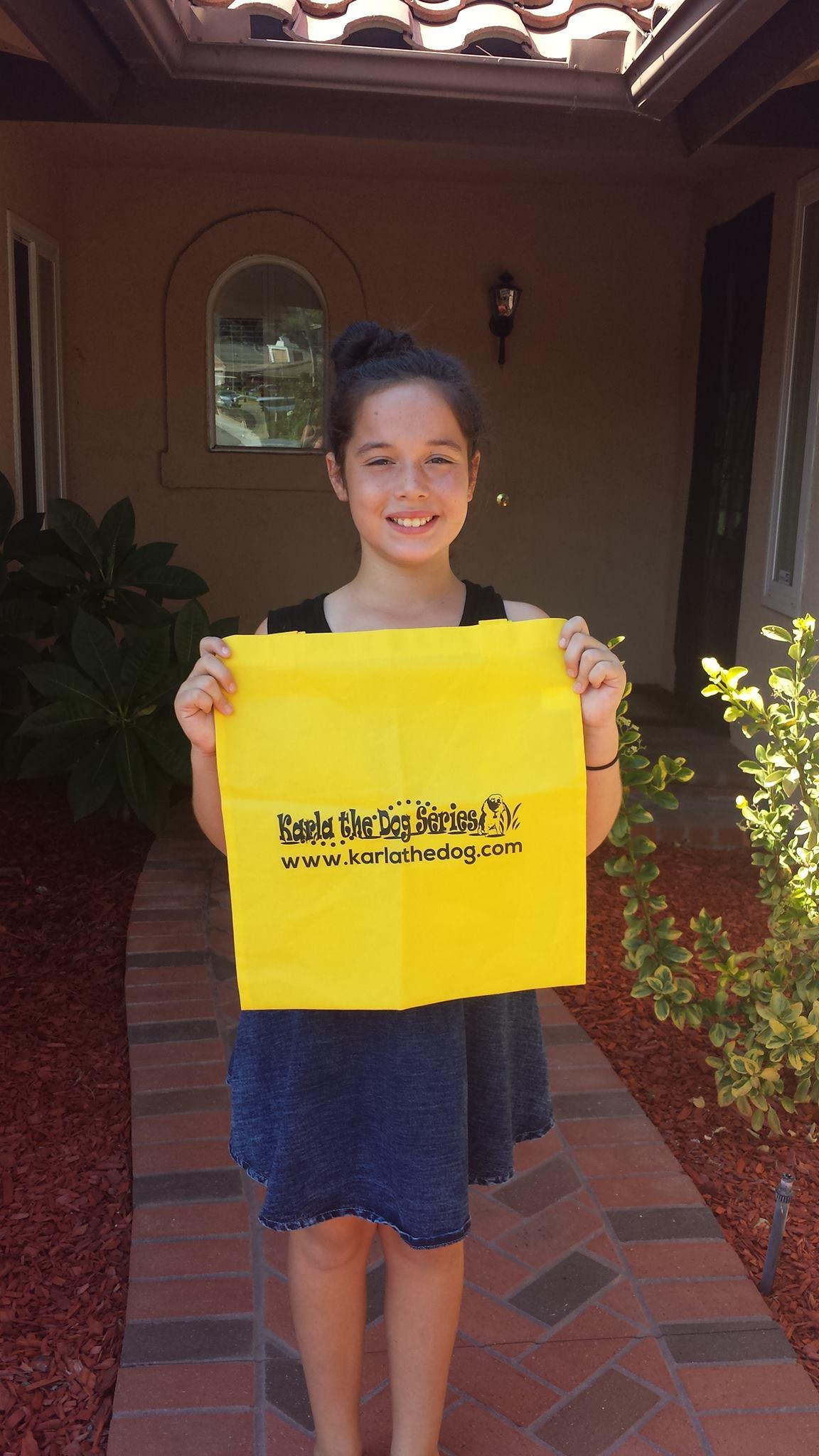 Madelyn love's her Karla bag!