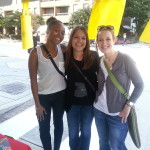 The Geldhof sisters and I!
