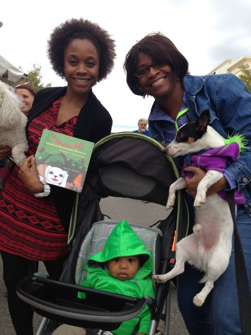 Baby LJ's grandmother bought him 2 books so she can read them to him at night!