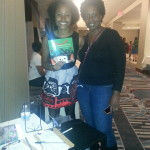 Me and another Vendor!