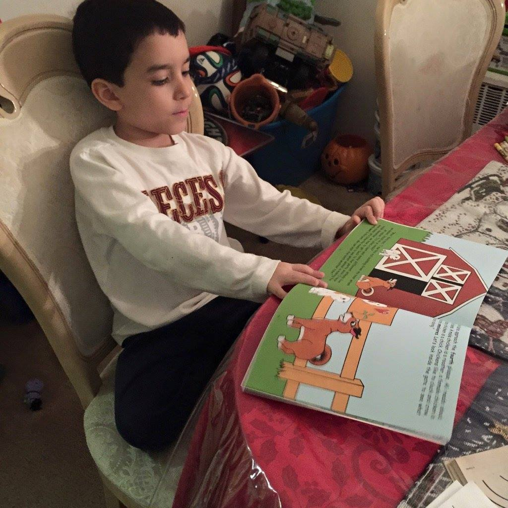 My former student Carlos loves reading about Karla. He's in Kindergarten.