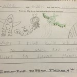 Nina predicts Karla will go to space and meet aliens on different planets.
