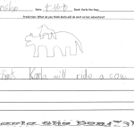 Vrishin thinks Karla will ride a cow.